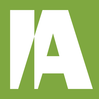 This image has an empty alt attribute; its file name is interdyn-artis-green-block-logo.png